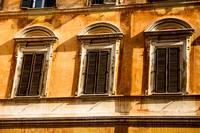 architecture, windows, Rome, Italy, Europe, travel, art
